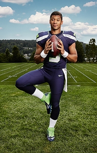 Russell Wilson July 29, 2013 Photographed by Peter yang
